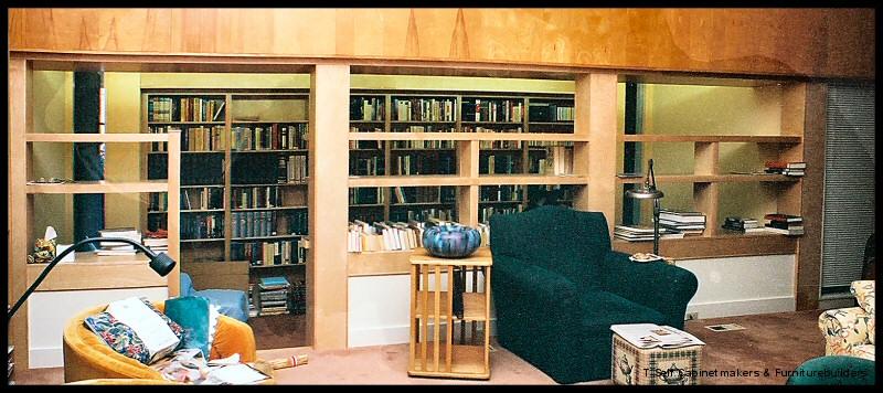 DD bookshelves